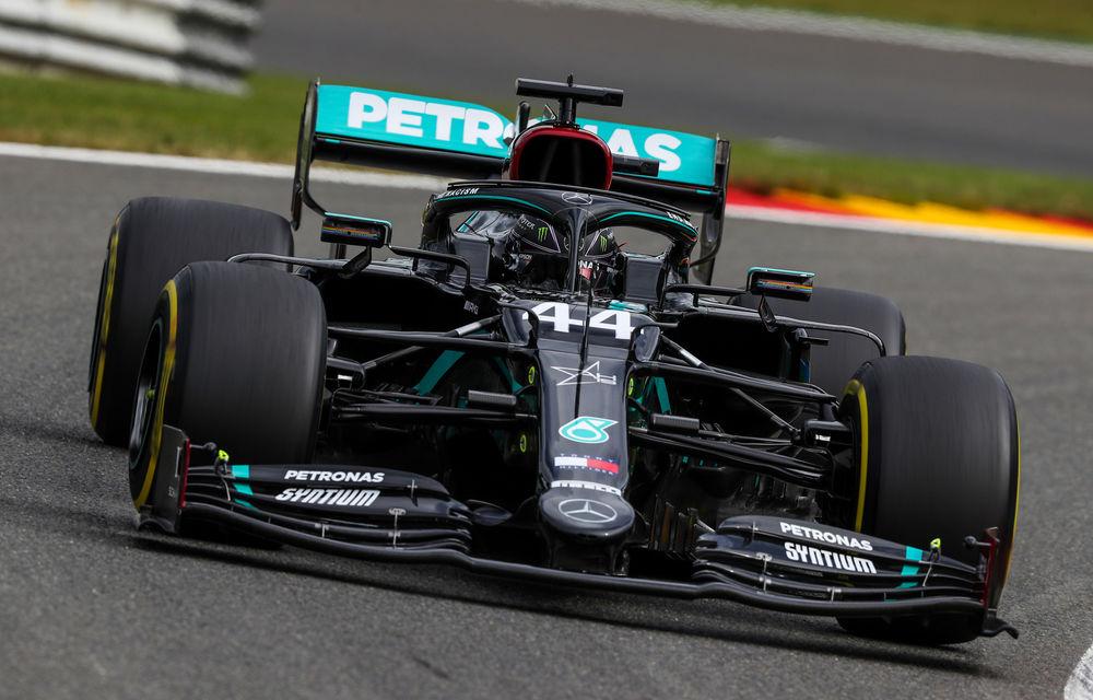 Hamilton, pole position la Spa-Francorchamps în fața lui Bottas! Ferrari, doar locurile 13 și 14 în calificări - Poza 1