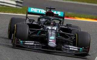 Hamilton, pole position la Spa-Francorchamps în fața lui Bottas! Ferrari, doar locurile 13 și 14 în calificări