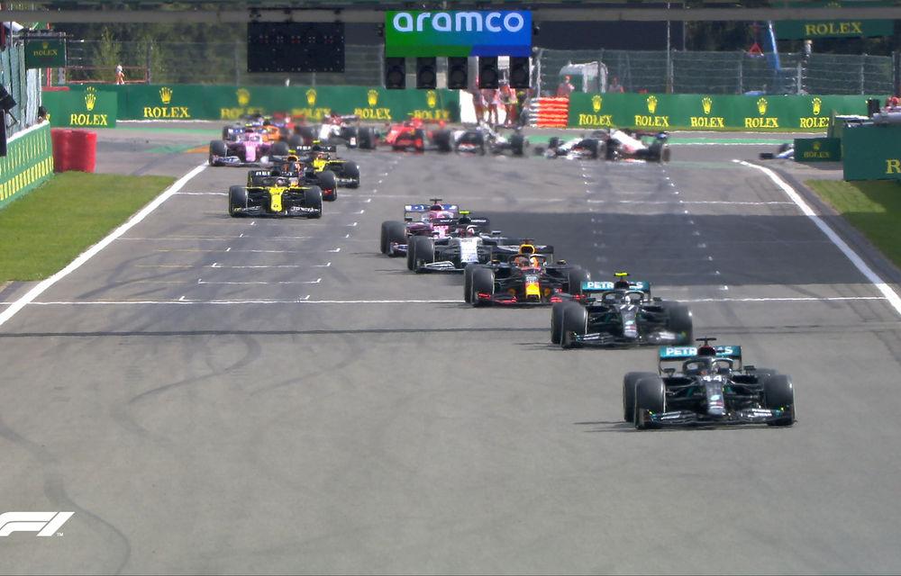 Hamilton a câștigat fără emoții cursa de la Spa-Francorchamps! Bottas și Verstappen au completat podiumul. Niciun punct pentru Ferrari - Poza 4