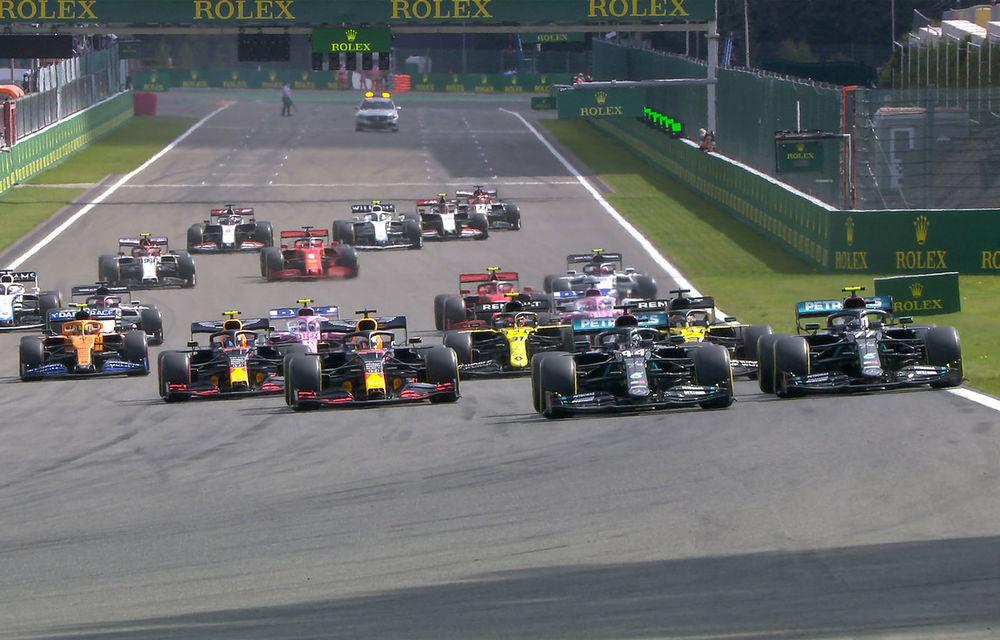 Hamilton a câștigat fără emoții cursa de la Spa-Francorchamps! Bottas și Verstappen au completat podiumul. Niciun punct pentru Ferrari - Poza 1