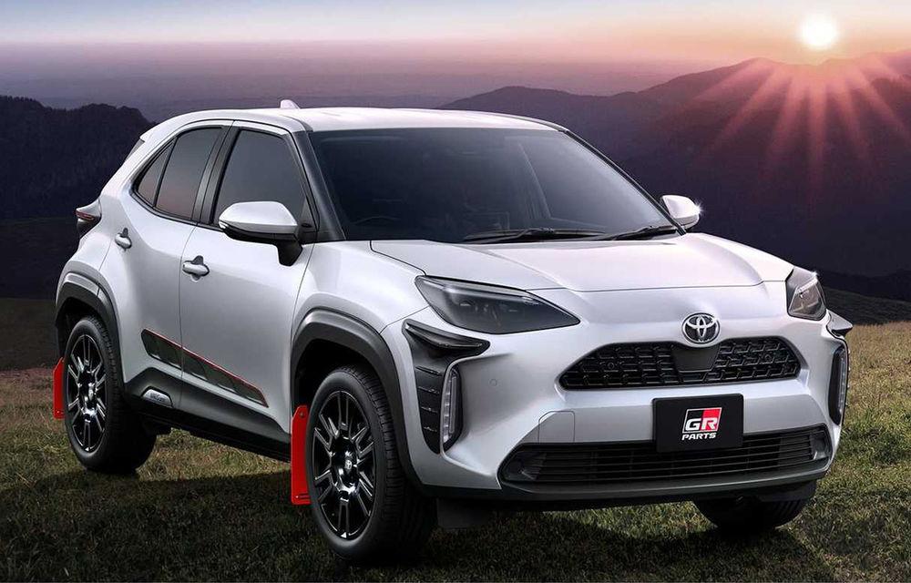 Divizia Gazoo Racing oferă accesorii pentru Toyota Yaris Cross: sistem de evacuare cu terminații duble și protecții suplimentare - Poza 1
