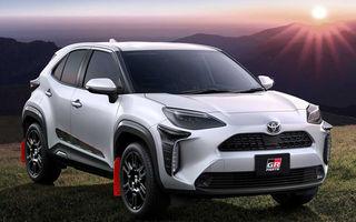 Divizia Gazoo Racing oferă accesorii pentru Toyota Yaris Cross: sistem de evacuare cu terminații duble și protecții suplimentare