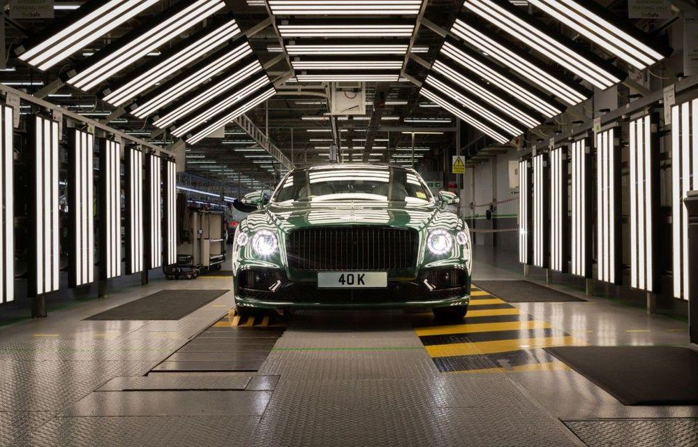 Sărbătoare la Bentley: producția lui Flying Spur a ajuns la 40.000 de exemplare în 15 ani - Poza 1