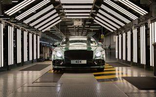 Sărbătoare la Bentley: producția lui Flying Spur a ajuns la 40.000 de exemplare în 15 ani