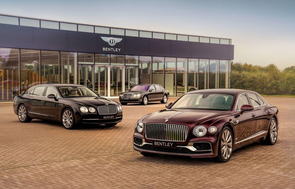 Sărbătoare la Bentley: producția lui Flying Spur a ajuns la 40.000 de exemplare în 15 ani - Poza 2