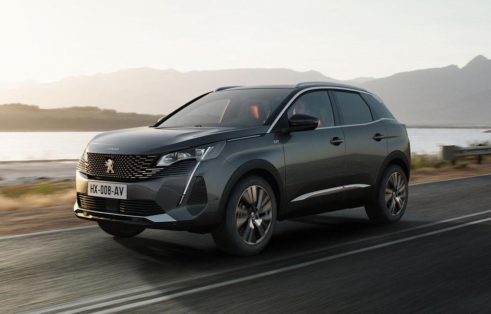 Peugeot a prezentat 3008 facelift: noutăți de design, sisteme de asistență îmbunătățite și versiuni plug-in hybrid cu până la 300 CP - Poza 1