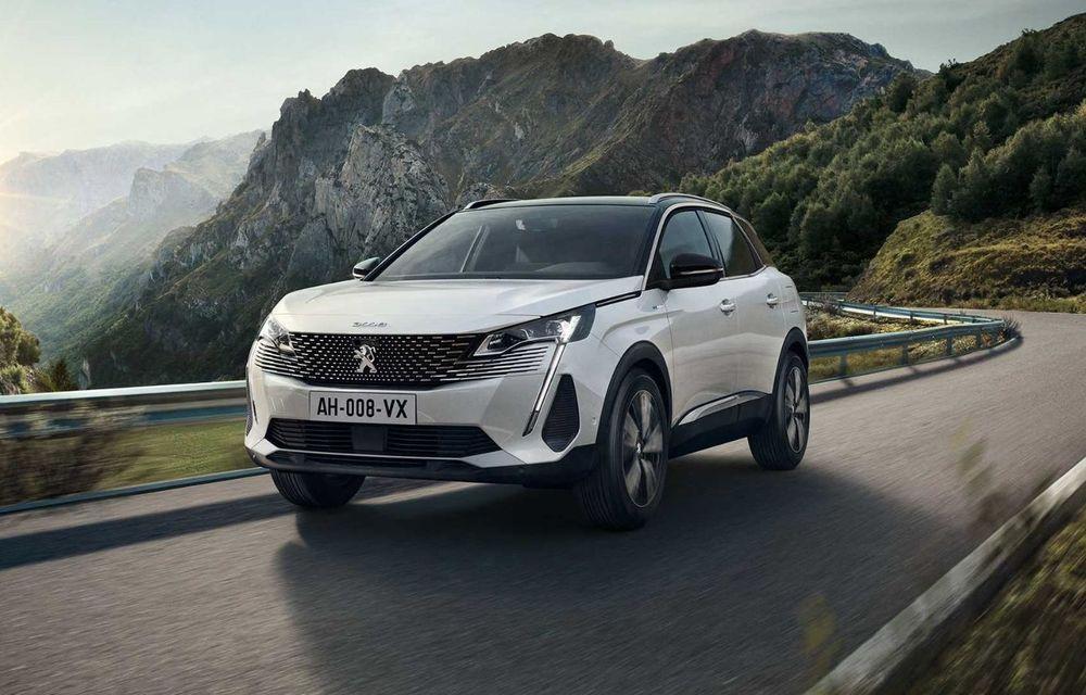 Peugeot a prezentat 3008 facelift: noutăți de design, sisteme de asistență îmbunătățite și versiuni plug-in hybrid cu până la 300 CP - Poza 2