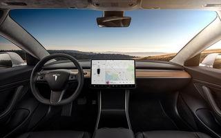 Tesla introduce un nou update software: mașinile vor recunoaște limitele de viteză de pe indicatoare