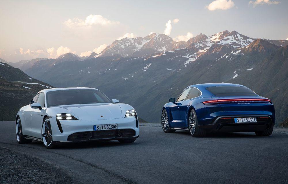 Facem cunoștință cu mașinile din #ElectricRomânia 2020: Porsche Taycan Turbo, cel mai puternic model din turul României cu 8 mașini electrice - Poza 16