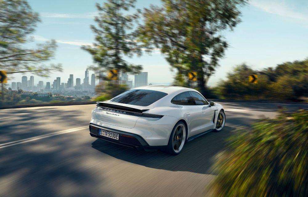Facem cunoștință cu mașinile din #ElectricRomânia 2020: Porsche Taycan Turbo, cel mai puternic model din turul României cu 8 mașini electrice - Poza 5