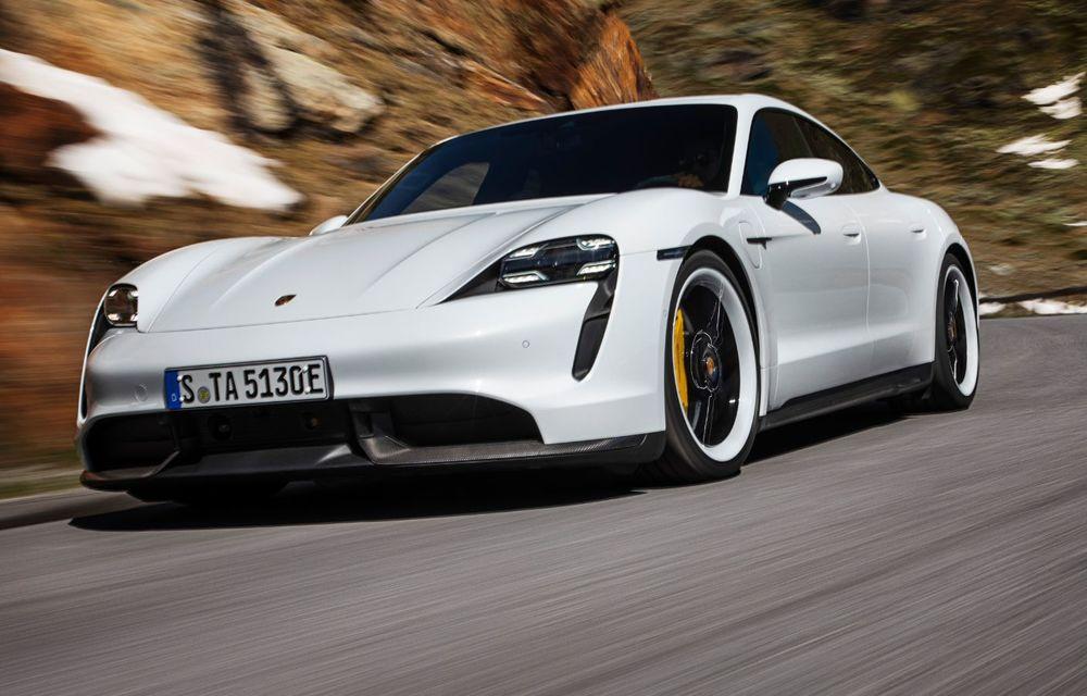 Facem cunoștință cu mașinile din #ElectricRomânia 2020: Porsche Taycan Turbo, cel mai puternic model din turul României cu 8 mașini electrice - Poza 2