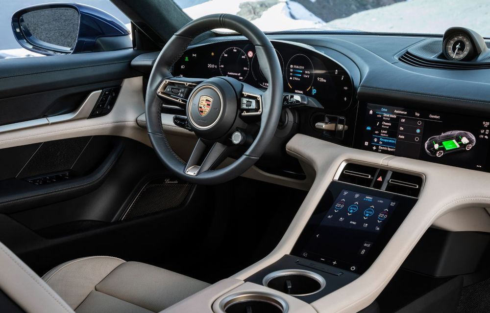 Facem cunoștință cu mașinile din #ElectricRomânia 2020: Porsche Taycan Turbo, cel mai puternic model din turul României cu 8 mașini electrice - Poza 20