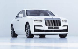 """Noua generație Rolls-Royce Ghost: schimbări minore de design, platformă nouă, interior """"înstelat"""" și motor de 6.8 litri și 571 de cai putere"""