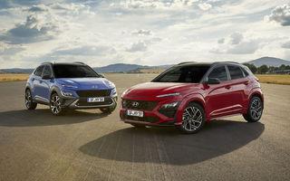 Hyundai prezintă Kona facelift: schimbări de design exterior, ecrane mai mari la interior, motorizări mild-hybrid și versiune N-Line