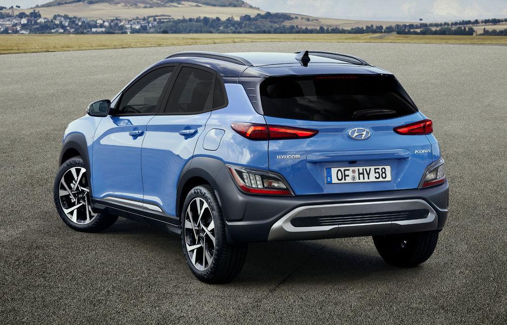 Hyundai prezintă Kona facelift: schimbări de design exterior, ecrane mai mari la interior, motorizări mild-hybrid și versiune N-Line - Poza 2