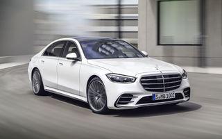 Noua generație Mercedes-Benz Clasa S: până la 5 ecrane în interior, versiune plug-in hybrid cu autonomie de 100 de kilometri și noi sisteme de siguranță