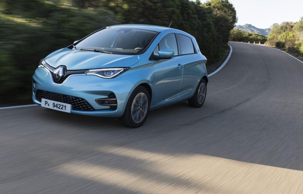 Facem cunoștință cu mașinile din #ElectricRomânia 2020: Renault Zoe - a doua generație a electricei franceze vine cu o baterie mai mare și cu un look chic - Poza 6