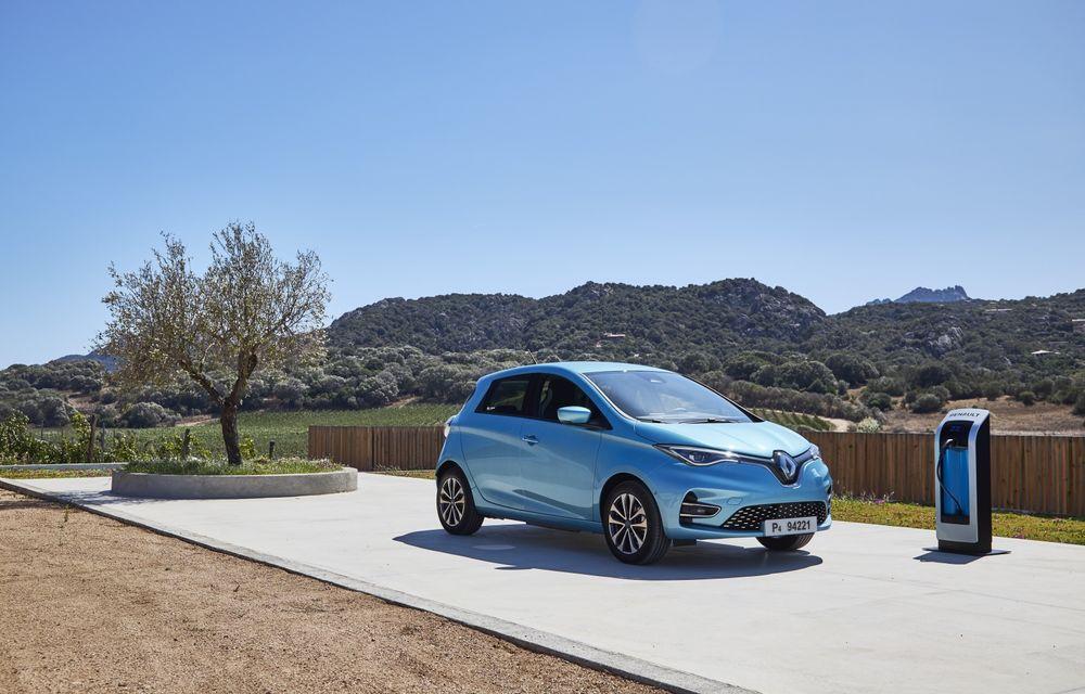 Facem cunoștință cu mașinile din #ElectricRomânia 2020: Renault Zoe - a doua generație a electricei franceze vine cu o baterie mai mare și cu un look chic - Poza 24