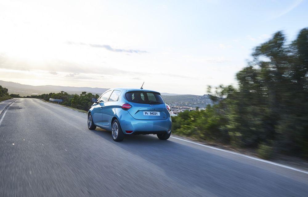 Facem cunoștință cu mașinile din #ElectricRomânia 2020: Renault Zoe - a doua generație a electricei franceze vine cu o baterie mai mare și cu un look chic - Poza 10