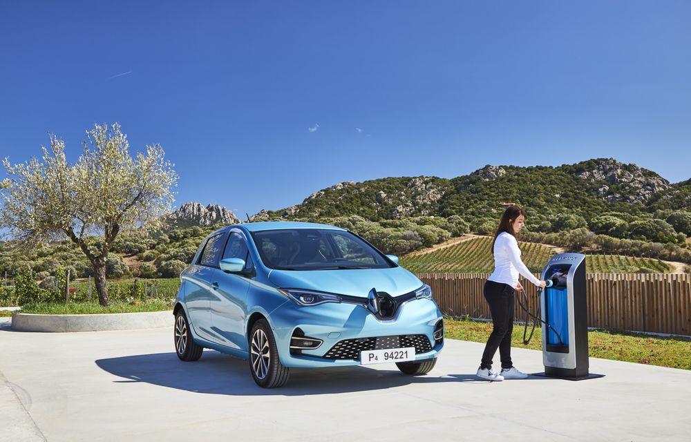 Facem cunoștință cu mașinile din #ElectricRomânia 2020: Renault Zoe - a doua generație a electricei franceze vine cu o baterie mai mare și cu un look chic - Poza 27