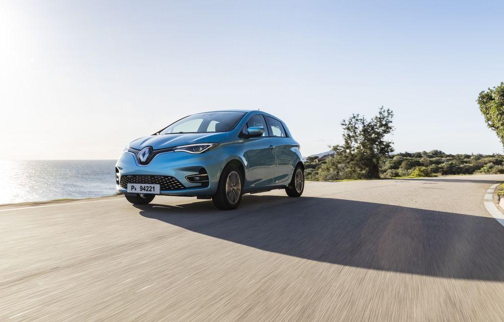 Facem cunoștință cu mașinile din #ElectricRomânia 2020: Renault Zoe - a doua generație a electricei franceze vine cu o baterie mai mare și cu un look chic - Poza 1