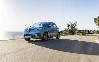 Facem cunoștință cu mașinile din #ElectricRomânia 2020: Renault Zoe - a doua generație a electricei franceze vine cu o baterie mai mare și cu un look chic