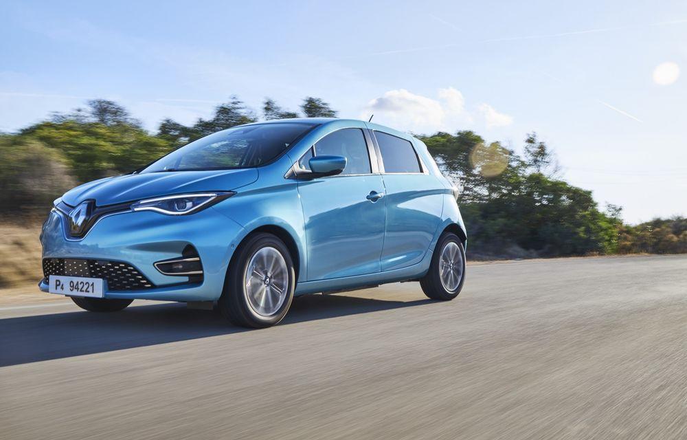 Facem cunoștință cu mașinile din #ElectricRomânia 2020: Renault Zoe - a doua generație a electricei franceze vine cu o baterie mai mare și cu un look chic - Poza 8