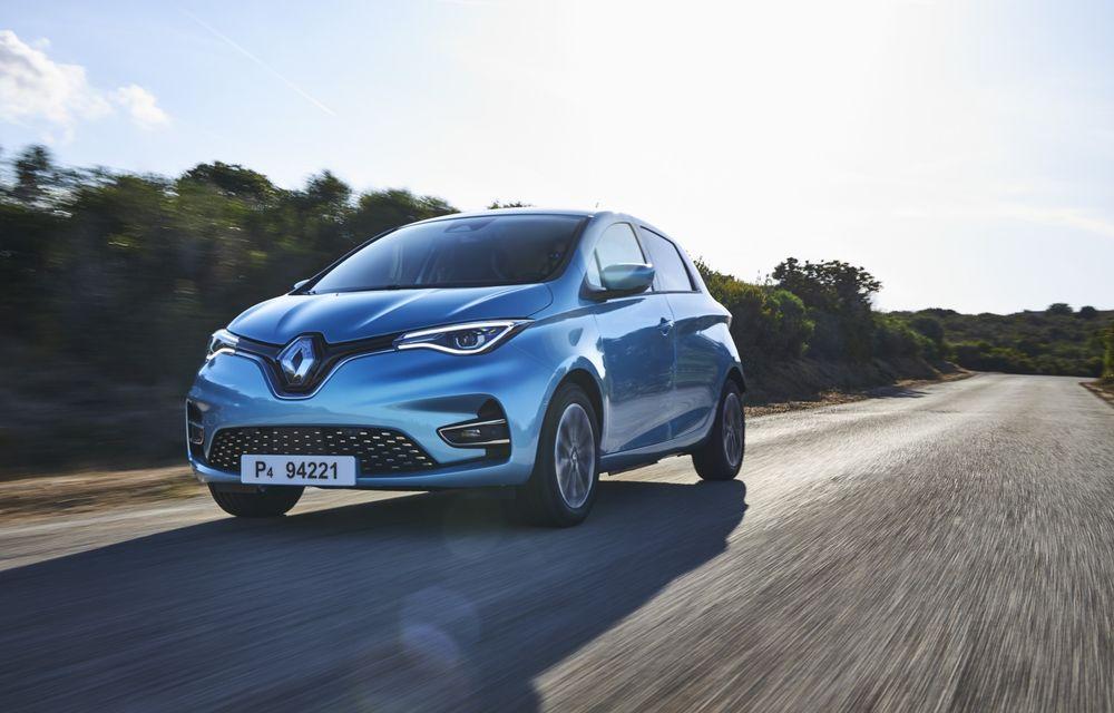 Facem cunoștință cu mașinile din #ElectricRomânia 2020: Renault Zoe - a doua generație a electricei franceze vine cu o baterie mai mare și cu un look chic - Poza 7