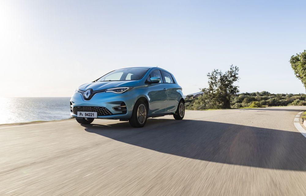 Facem cunoștință cu mașinile din #ElectricRomânia 2020: Renault Zoe - a doua generație a electricei franceze vine cu o baterie mai mare și cu un look chic - Poza 20