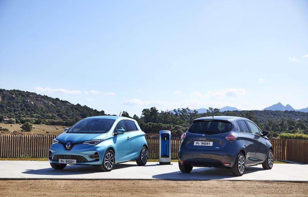 Facem cunoștință cu mașinile din #ElectricRomânia 2020: Renault Zoe - a doua generație a electricei franceze vine cu o baterie mai mare și cu un look chic - Poza 15