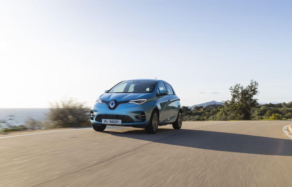 Facem cunoștință cu mașinile din #ElectricRomânia 2020: Renault Zoe - a doua generație a electricei franceze vine cu o baterie mai mare și cu un look chic - Poza 4