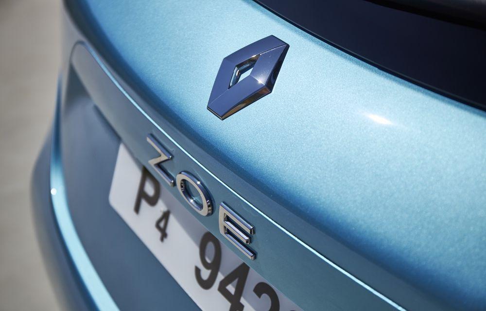 Facem cunoștință cu mașinile din #ElectricRomânia 2020: Renault Zoe - a doua generație a electricei franceze vine cu o baterie mai mare și cu un look chic - Poza 22