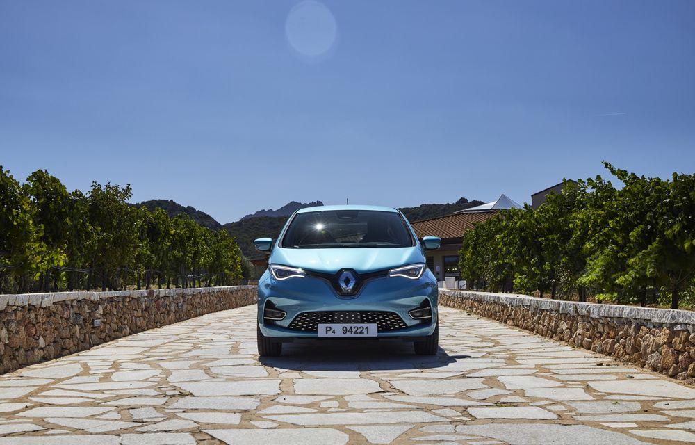 Facem cunoștință cu mașinile din #ElectricRomânia 2020: Renault Zoe - a doua generație a electricei franceze vine cu o baterie mai mare și cu un look chic - Poza 23