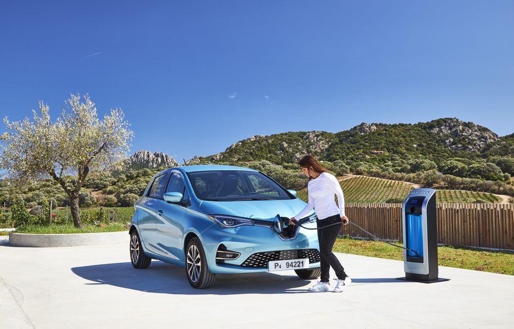 Facem cunoștință cu mașinile din #ElectricRomânia 2020: Renault Zoe - a doua generație a electricei franceze vine cu o baterie mai mare și cu un look chic - Poza 26