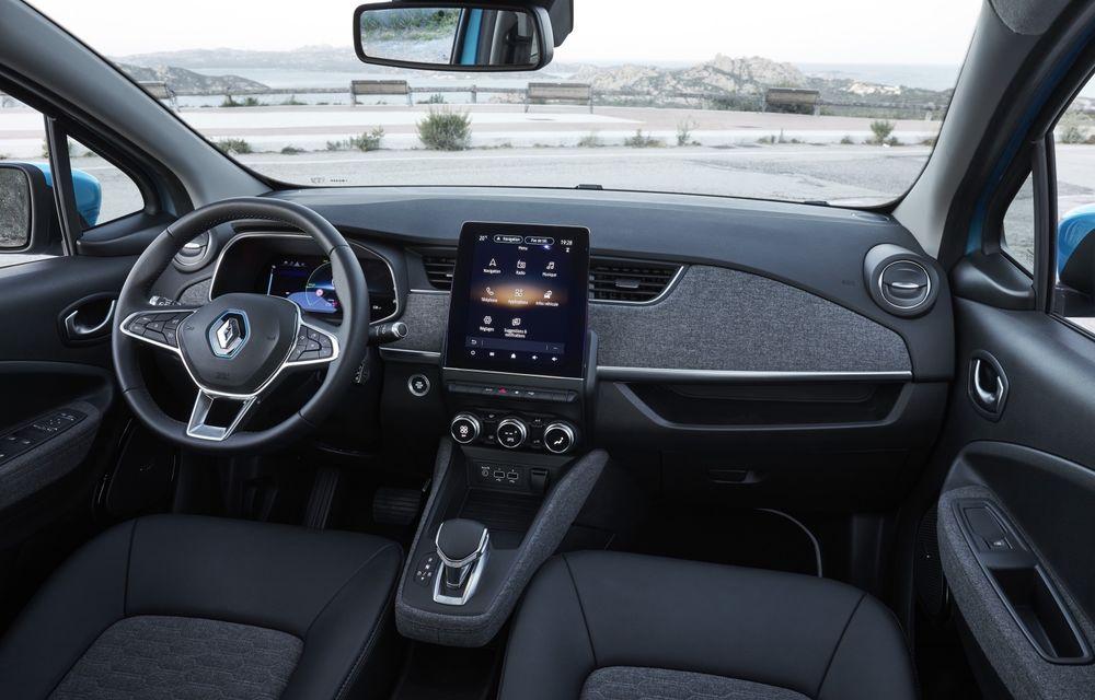 Facem cunoștință cu mașinile din #ElectricRomânia 2020: Renault Zoe - a doua generație a electricei franceze vine cu o baterie mai mare și cu un look chic - Poza 11
