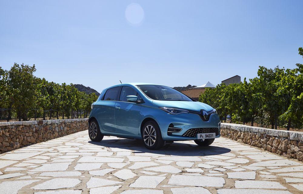 Facem cunoștință cu mașinile din #ElectricRomânia 2020: Renault Zoe - a doua generație a electricei franceze vine cu o baterie mai mare și cu un look chic - Poza 3