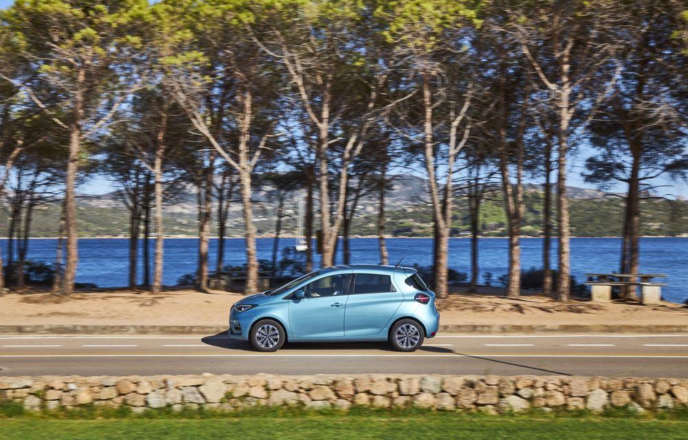 Facem cunoștință cu mașinile din #ElectricRomânia 2020: Renault Zoe - a doua generație a electricei franceze vine cu o baterie mai mare și cu un look chic - Poza 9