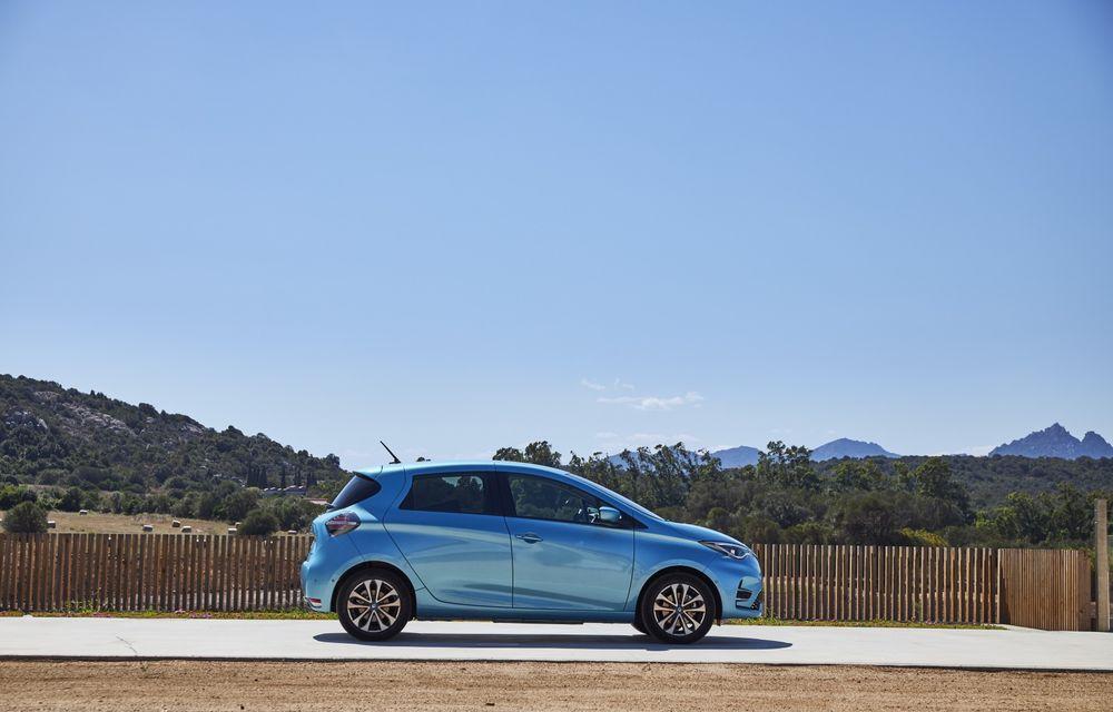 Facem cunoștință cu mașinile din #ElectricRomânia 2020: Renault Zoe - a doua generație a electricei franceze vine cu o baterie mai mare și cu un look chic - Poza 25