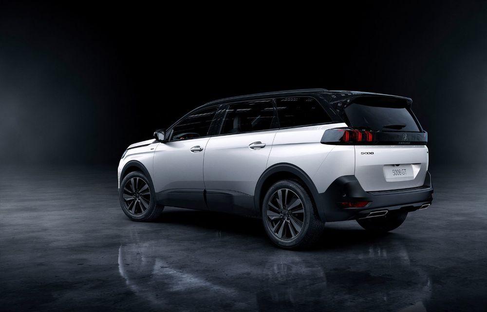 Peugeot a prezentat 5008 facelift: modificări de design și echipamente noi - Poza 2