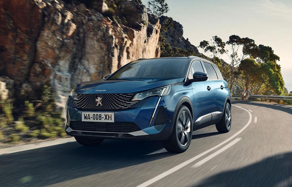 Peugeot a prezentat 5008 facelift: modificări de design și echipamente noi - Poza 1