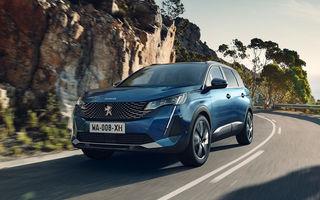 Peugeot a prezentat 5008 facelift: modificări de design și echipamente noi