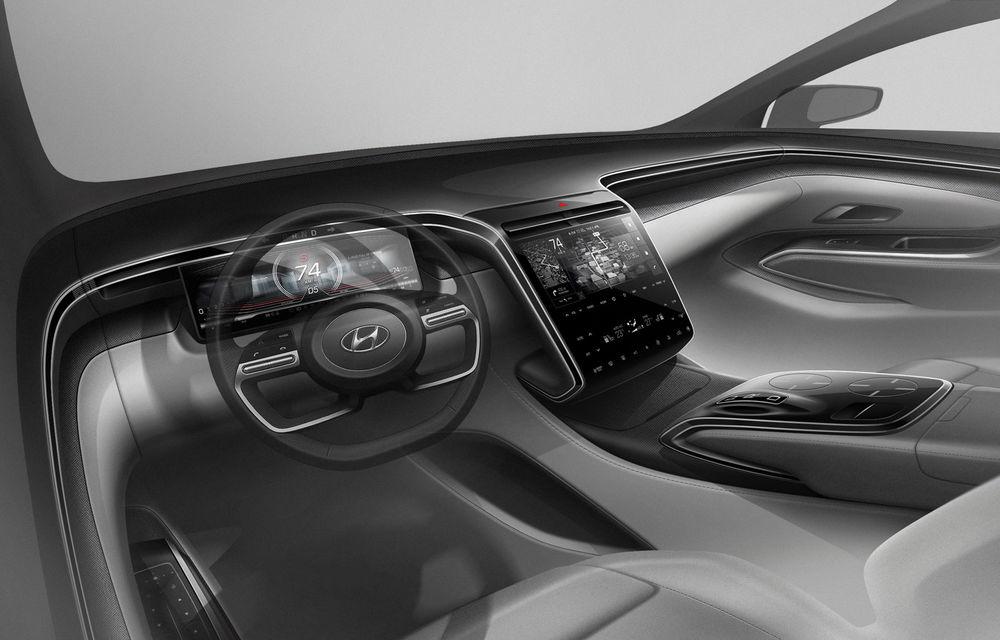 UPDATE: Primele teasere video cu viitoarea generație Hyundai Tucson: prezentarea oficială va avea loc în septembrie - Poza 3