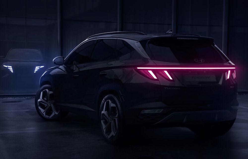 UPDATE: Primele teasere video cu viitoarea generație Hyundai Tucson: prezentarea oficială va avea loc în septembrie - Poza 2
