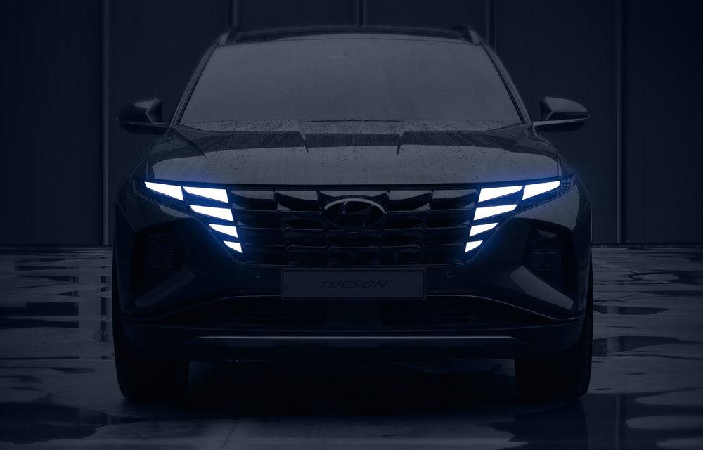 UPDATE: Primele teasere video cu viitoarea generație Hyundai Tucson: prezentarea oficială va avea loc în septembrie - Poza 1