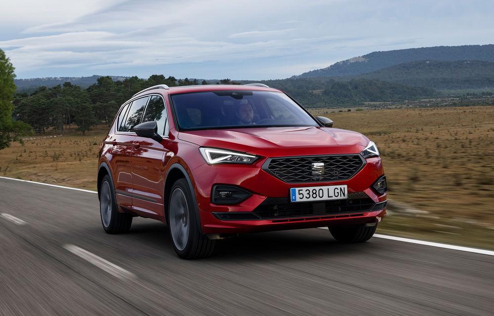 Seat introduce o versiune nouă pentru Tarraco: SUV-ul poate fi comandat cu motor diesel, transmisie automată și roți motrice față - Poza 1