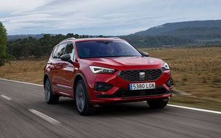 Seat introduce o versiune nouă pentru Tarraco: SUV-ul poate fi comandat cu motor diesel, transmisie automată și roți motrice față
