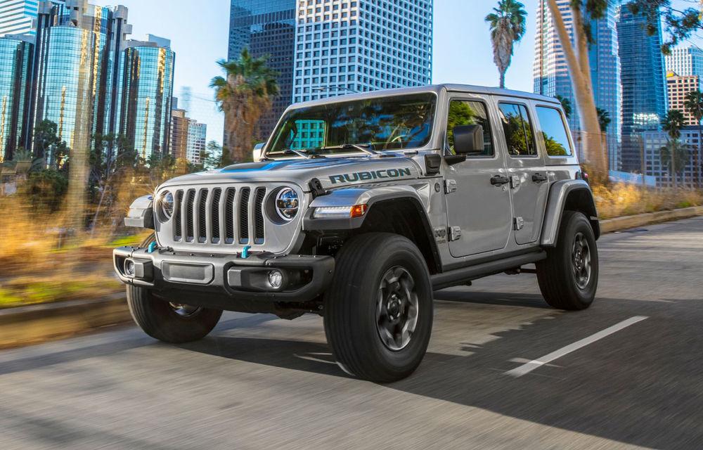 Jeep Wrangler primește versiune plug-in hybrid: 381 de cai putere și autonomie electrică de 40 de kilometri - Poza 1