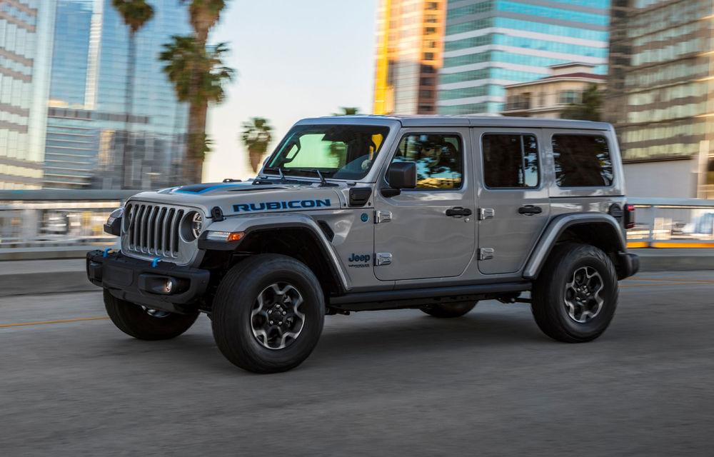 Jeep Wrangler primește versiune plug-in hybrid: 381 de cai putere și autonomie electrică de 40 de kilometri - Poza 5