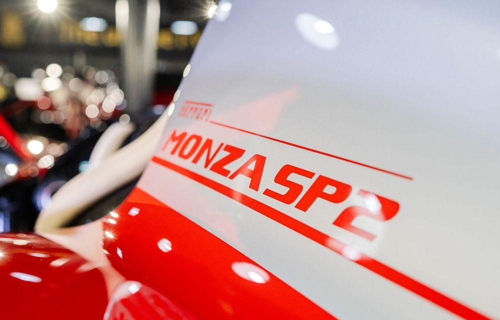 Galeria Țiriac Collection s-a îmbogățit cu un exemplar Ferrari Monza SP2: modelul este echipat cu cel mai puternic V12 aspirat natural din istoria companiei - Poza 4