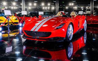 Galeria Țiriac Collection s-a îmbogățit cu un exemplar Ferrari Monza SP2: modelul este echipat cu cel mai puternic V12 aspirat natural din istoria companiei